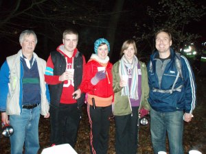 We love a club social, like this overnight orienteering arranged by Mike F