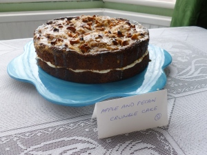 Apple and Pecan Caramel Cake