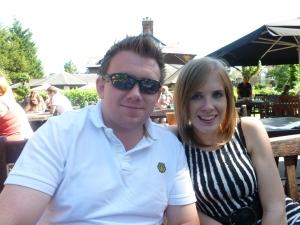 l-r: Stuart and Jess