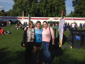 l-r: Jess, Katie and Diane