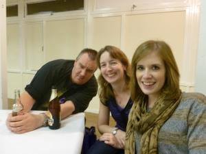 l-r: David, Janet and Jess