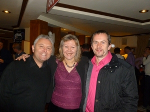 l-r: Steve, Diane and Troy