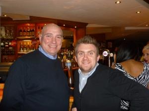l-r: Stuart B and Stuart E