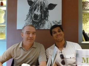 l-r: Noel and Joel