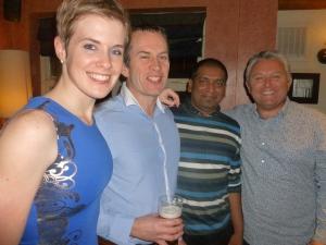 l-r: Katie, Troy, Het and Steve