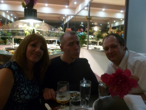 l-r: Kay, Noel and Nick